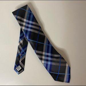 NWT Geoffrey Beene Pierre Plaid Tie